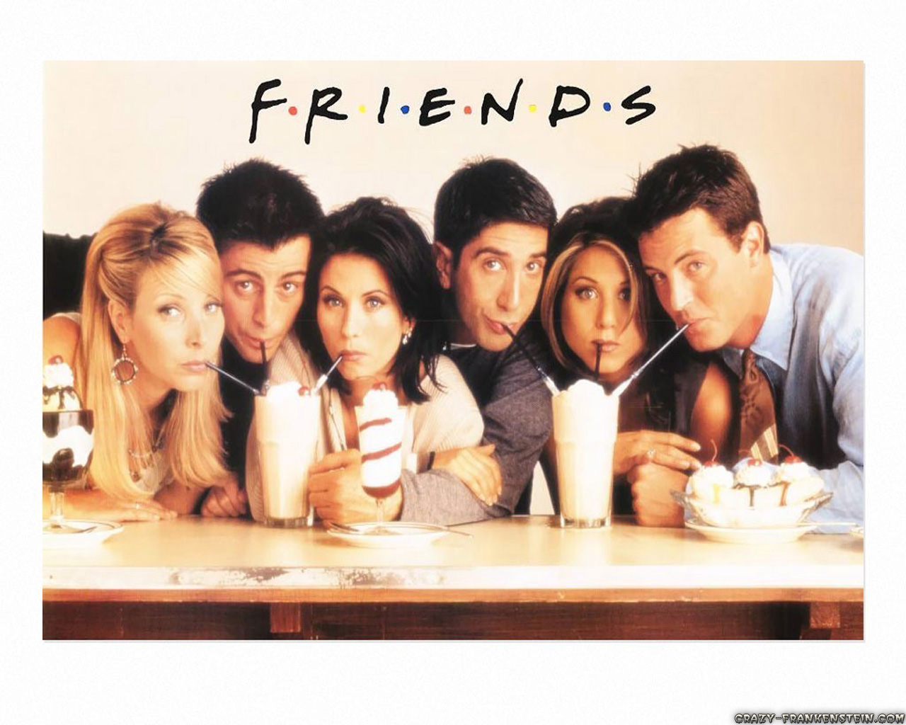 Aprende inglés viendo Friends